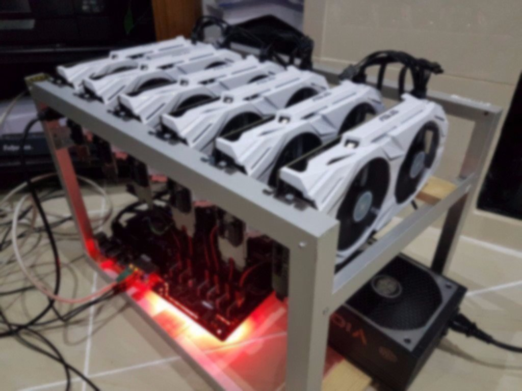 Example mining rig